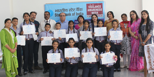 Elocution Competition Conducted By State Bank of India