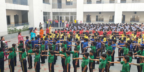 Pledge Taking Ceremony organized on the occasion of National Unity Day